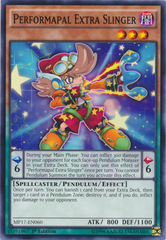 Performapal Extra Slinger - MP17-EN060 - Common - 1st Edition on Channel Fireball