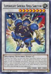Superheavy Samurai Ninja Sarutobi - MP17-EN149 - Rare - 1st Edition