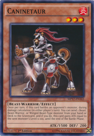 Caninetaur - MP17-EN165 - Common - 1st Edition
