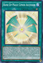 Rank-Up-Magic Cipher Ascension - MP17-EN210 - Common - 1st Edition