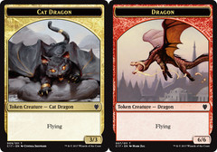Cat Dragon // Dragon (6/6) Token