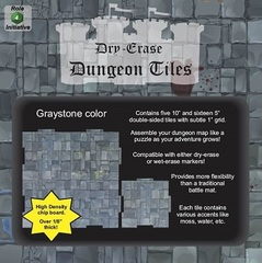 Role 4 Intiative - Dungeon Tiles - Graystone: (5) 10