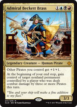 Admiral Beckett Brass