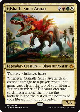 Gishath, Suns Avatar