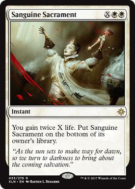Sanguine Sacrament