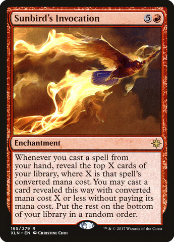 Sunbirds Invocation - Foil