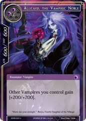 Alucard, the Vampiric Noble - SDR5-002 - U on Channel Fireball