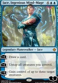 Jace, Ingenious Mind-Mage - Foil - Planeswalker Deck Exclusive