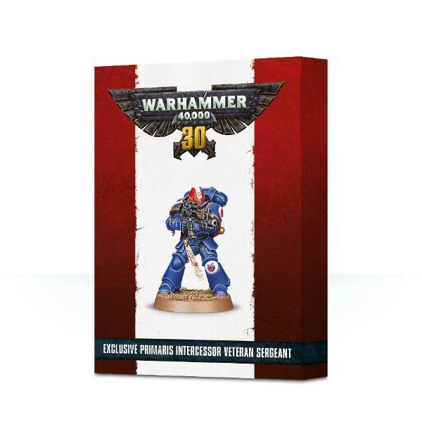 Warhammer 40k Primaris Intercessor Veteran Sergeant