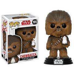 Pop! Star Wars 195: Star Wars: The Last Jedi - Chewbacca With Porg
