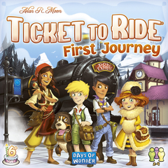 Ticket to Ride - First Journey (Europe)