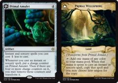 Primal Amulet // Primal Wellspring - Foil