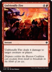 Unfriendly Fire - Foil