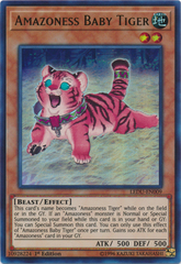 Amazoness Baby Tiger - LEDU-EN009 - Ultra Rare - 1st Edition on Channel Fireball