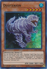 Duoterion - LEDU-EN037 - Super Rare - 1st Edition on Channel Fireball
