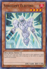 Sergeant Electro - LEDU-EN046 - Common - 1st Edition