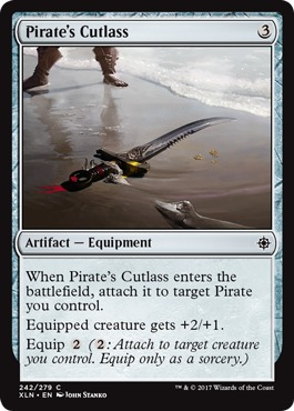 Pirates Cutlass - Foil