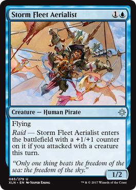 Storm Fleet Aerialist - Foil