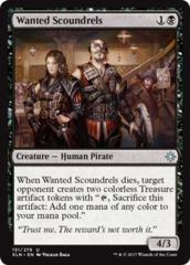 Wanted Scoundrels - Foil
