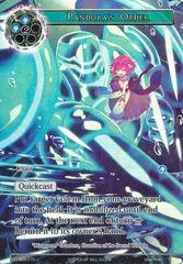 Pandora's Order (Full Art) - ACN-075 - U