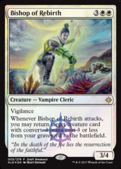 Bishop of Rebirth - Draft Weekend Promo on Channel Fireball