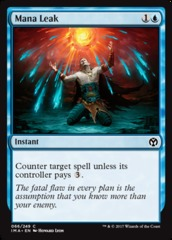 Mana Leak on Channel Fireball