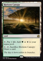 Horizon Canopy on Channel Fireball