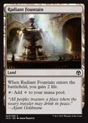 Radiant Fountain on Channel Fireball