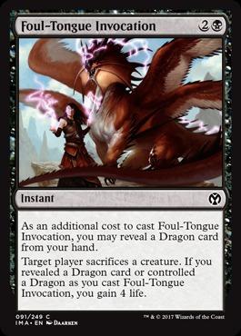 Foul-Tongue Invocation - Foil
