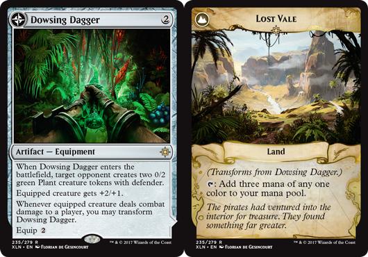 Dowsing Dagger // Lost Vale - Magic Singles » Ixalan Block