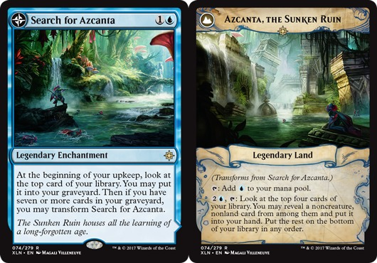 Search for Azcanta // Azcanta, the Sunken Ruin - Foil