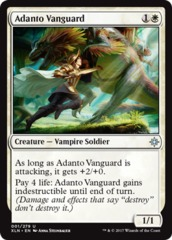 Adanto Vanguard - Foil on Channel Fireball