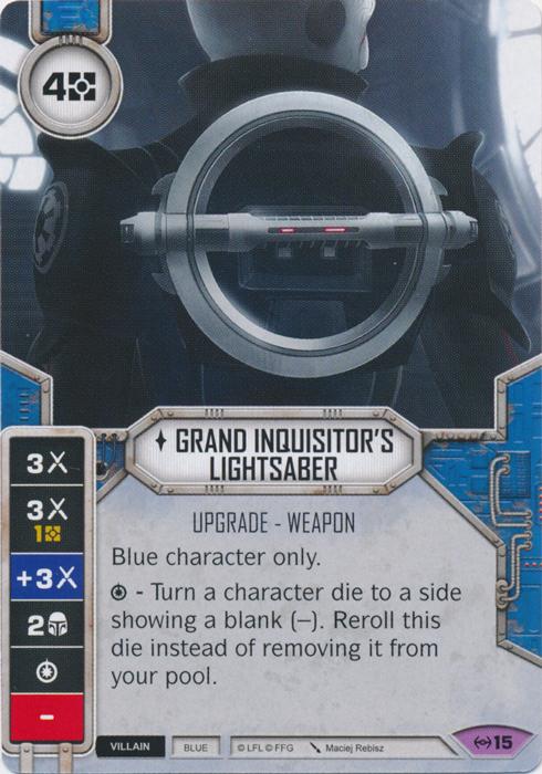 Grand Inquisitors Lightsaber