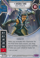 Ahsoka Tano - Force Operative (Sold with premium die)