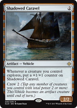 Shadowed Caravel - Foil