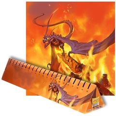 Dragon Shield: Playmat - Matte Orange