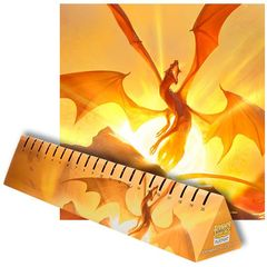 Dragon Shield: Playmat - Matte Yellow (Elicaphaz)