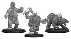Trollblood Northkin Bear Handler & Battle Unit Box