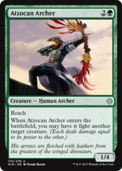 Atzocan Archer on Channel Fireball