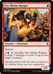 Fire Shrine Keeper - Foil