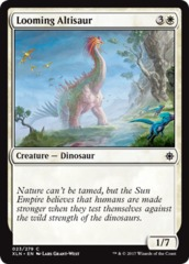 Looming Altisaur - Foil