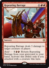 Repeating Barrage - Foil