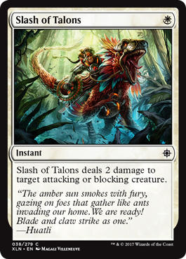 Slash of Talons - Foil