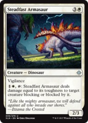Steadfast Armasaur - Foil