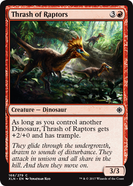 Thrash of Raptors - Foil