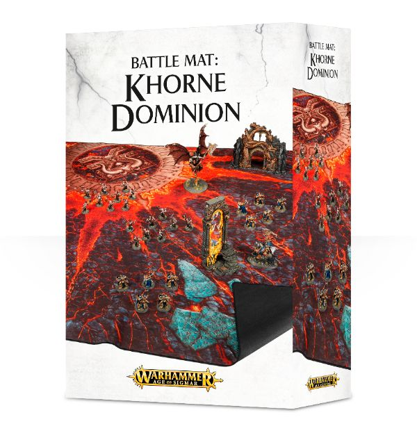 A.O.S Battle Mat: Khorne Dominion