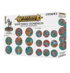 Age of Sigmar: Shattered Dominion - 25mm & 32mm Round Bases