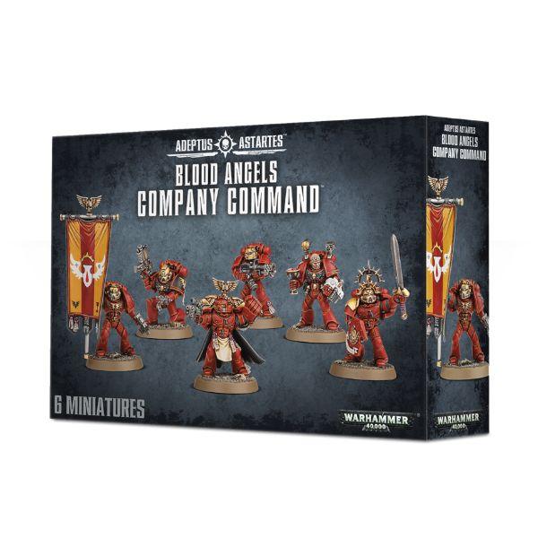 Blood Angels Company Command