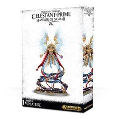 Stormcast Eternals Celestant-Prime Hammer Of Sigmar ( 96-16 )