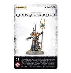 Slaves to Darkness Chaos Sorcerer Lord ( 83-33-w )